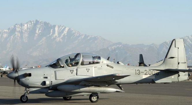 Sierra Nevada awarded $42.7M to train Afghan Air Force on A-29 Super Tucano