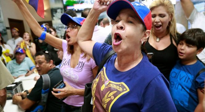 Venezuelan govt says it is putting down coup bid