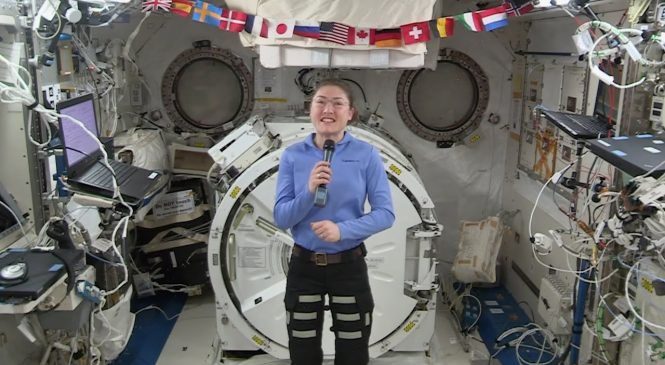 NASA announces record-breaking stay on space station for astronaut Christina Koch