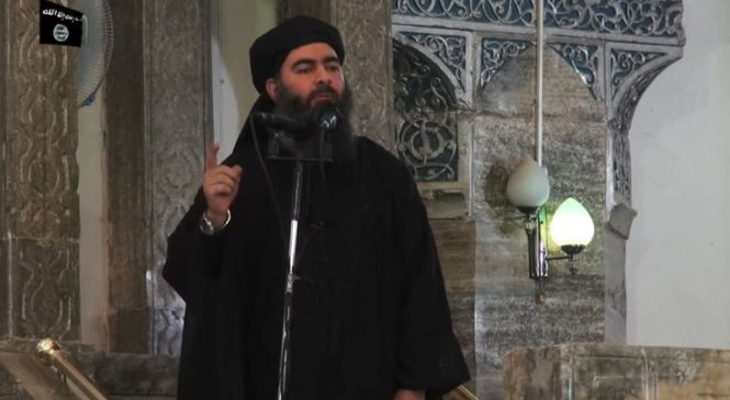Video emerges of 'Islamic State leader alive'