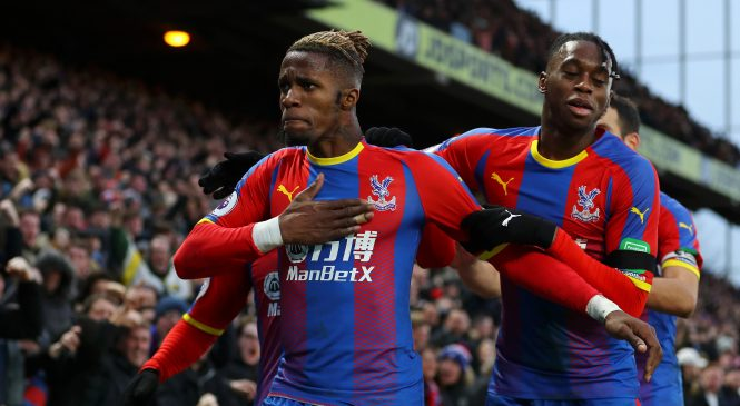 Arsenal boss Unai Emery lauds Crystal Palace duo Wilfried Zaha and Aaron Wan-Bissaka and wants his academy graduates to follow their lead