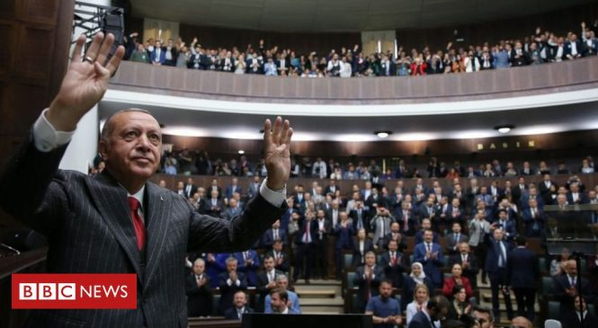 Turkey's Erdogan defends Istanbul election re-run amid protests