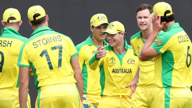 England v Australia warm-up: Steve Smith hits ton as Aaron Finch's side earn narrow win