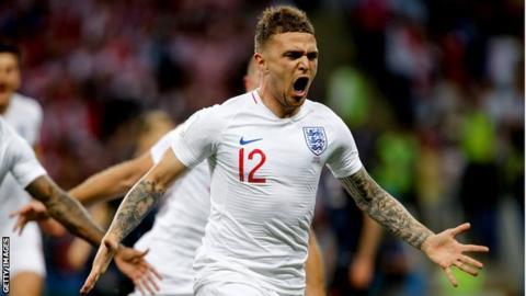 Nations League: England drop Kieran Trippier but Harry Kane included