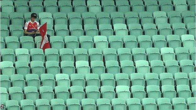Arsenal fan in Baku