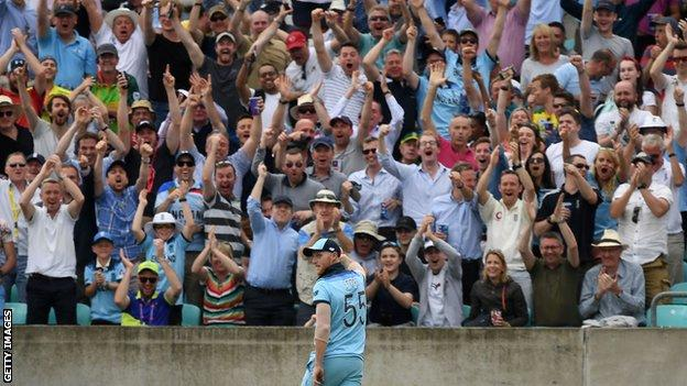 Cricket World Cup: Ben Stokes' 'full day out' lights up England victory over South Africa