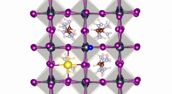 Fluoride boosts the stability of perovskite solar cells