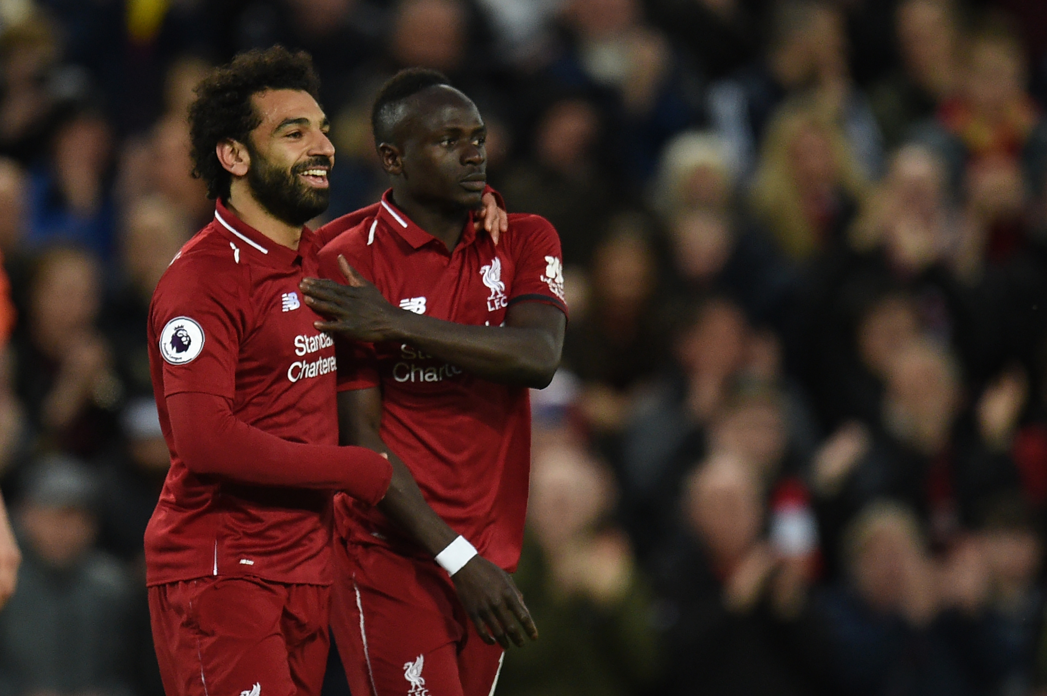 Mo Salah and Sadio Mane also finished with 22 goals