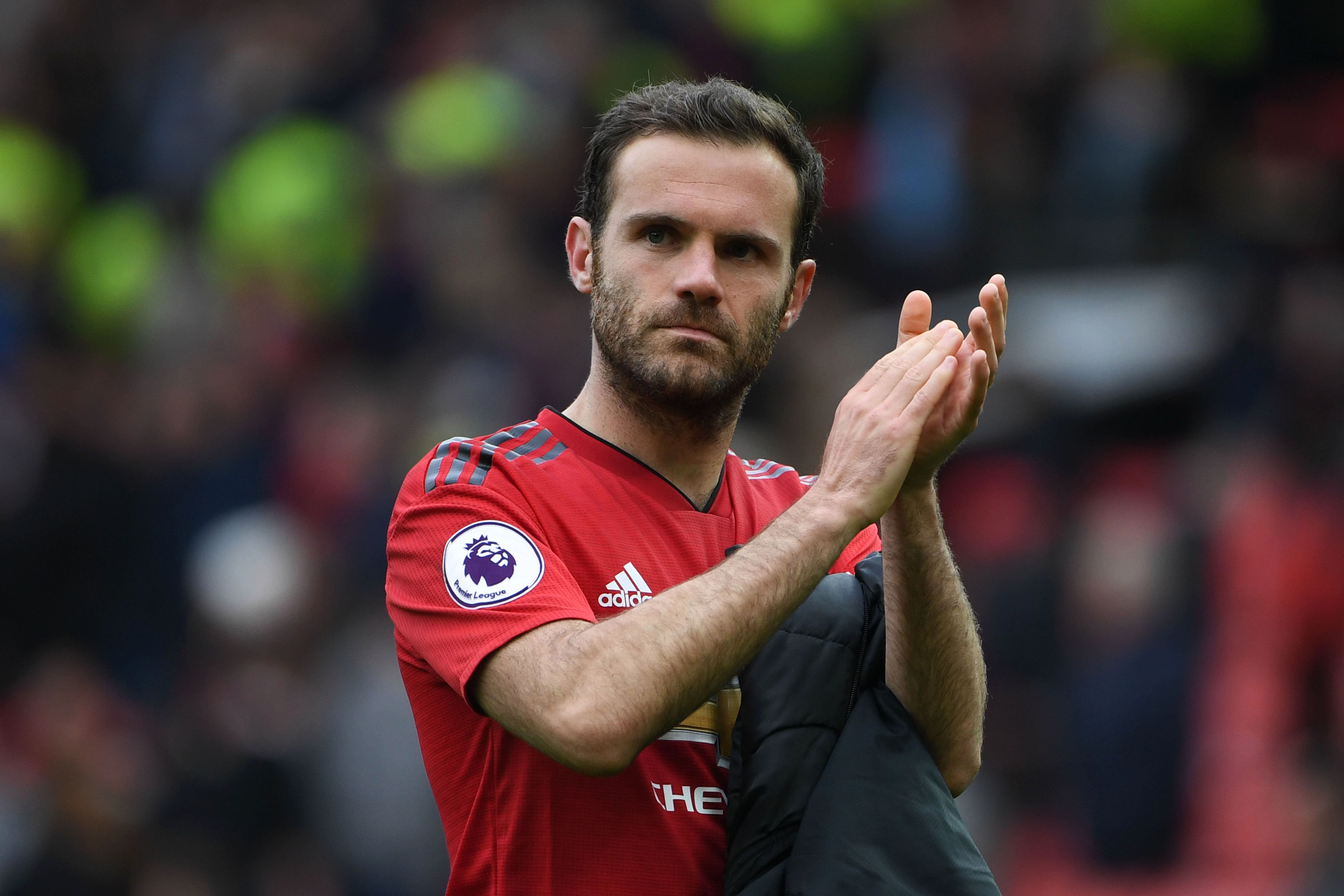 Juan Mata looks to be on his way out of Man United after five years at the club