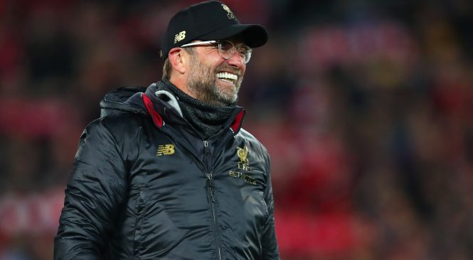 Jurgen Klopp describes Liverpool players as 'f****** giants' live on TV after extraordinary Champions League triumph over Barcelona