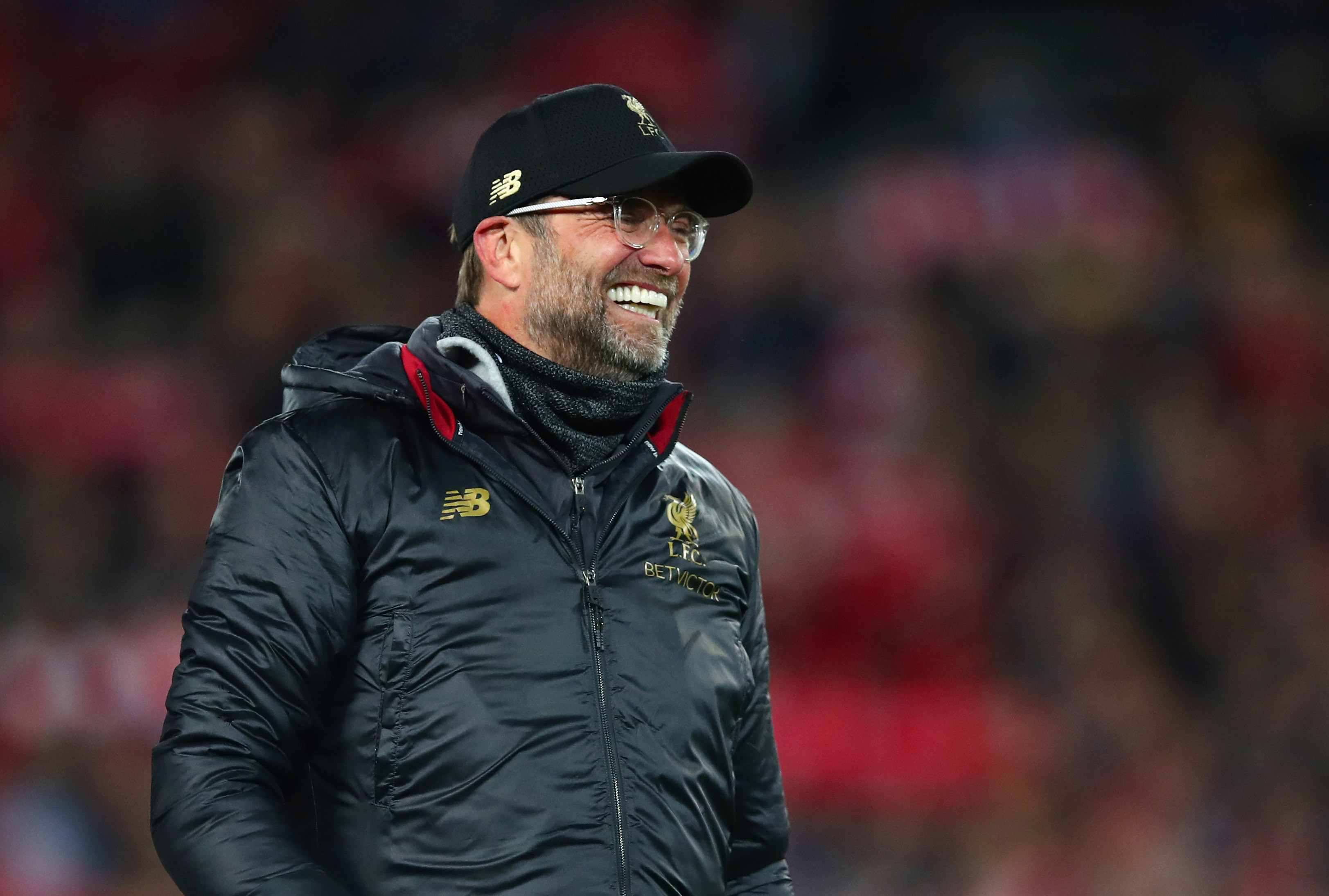 Klopp was overcome with joy