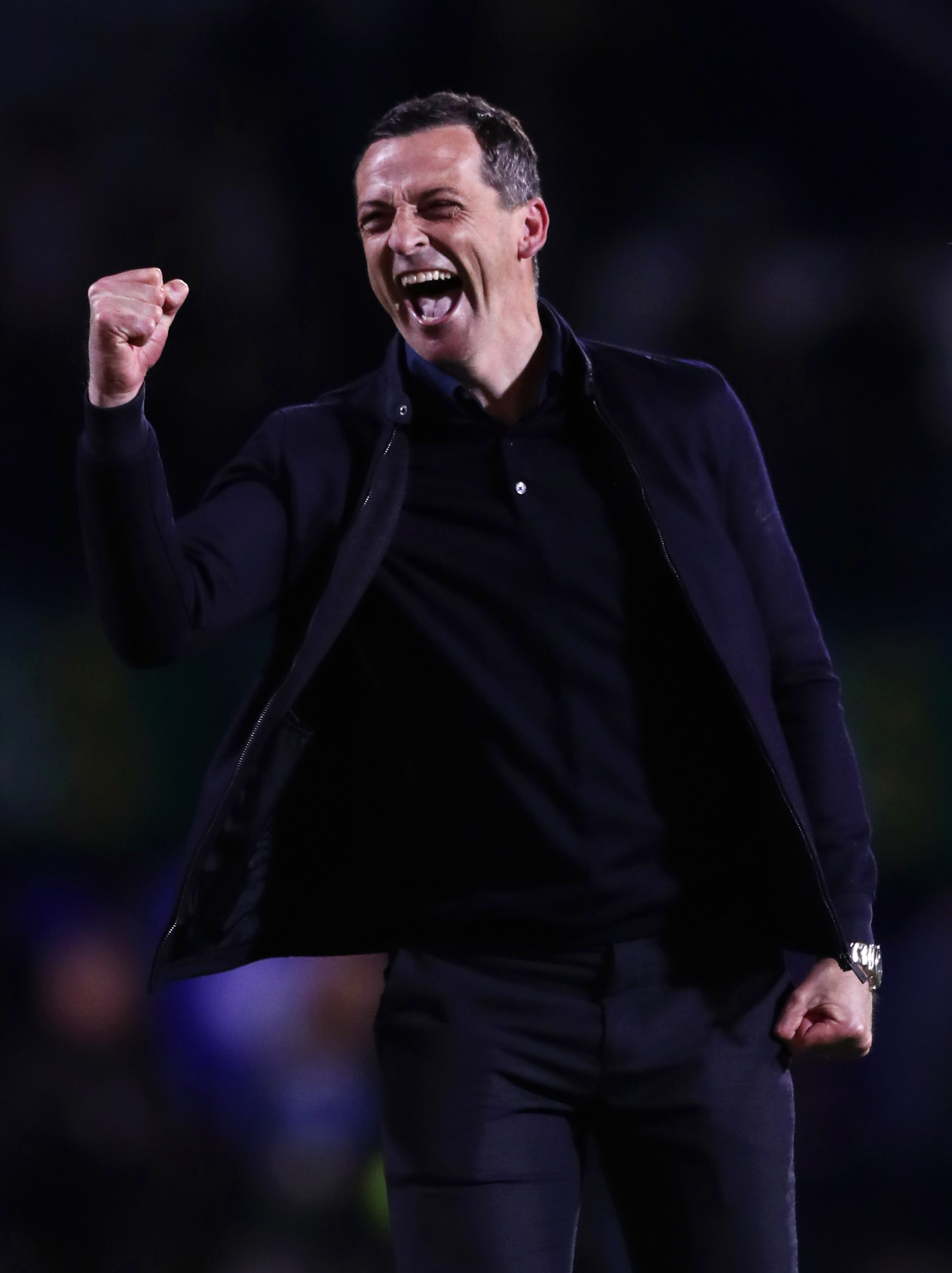 Jack Ross was elated following his side's victory