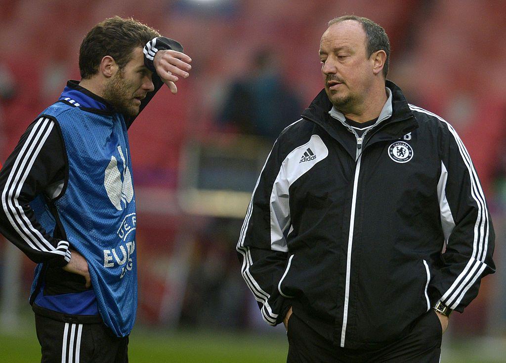 Will Mata and Benitez be reunited next season?