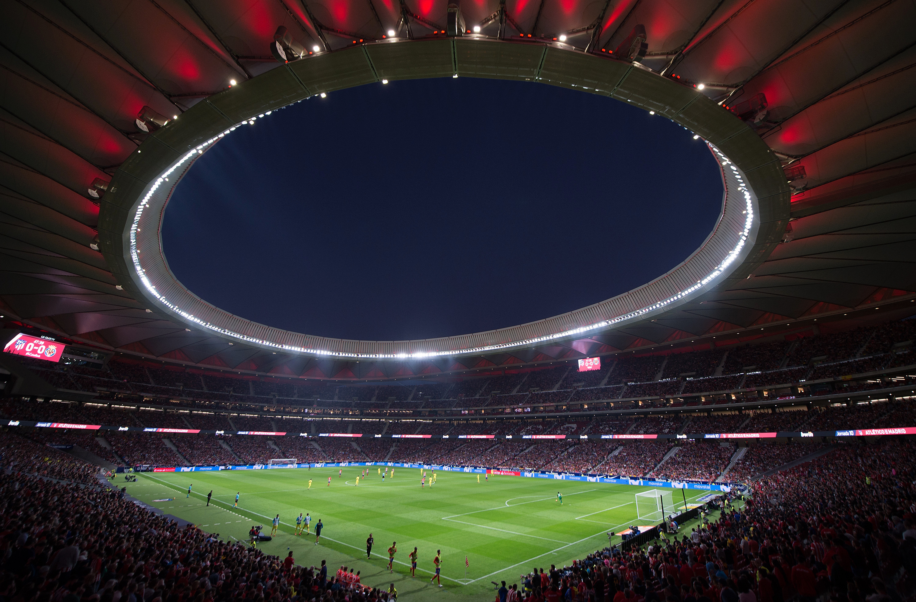 The Wanda Metropolitano in Madrid will host the Champions League final