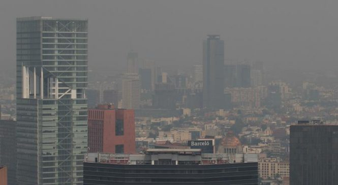 Mexico City issues emergency alert as wildfire smoke fills air