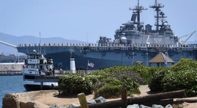Navy's Boxer ARG deployed from Naval Base San Diego