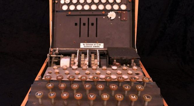 Rare Nazi Enigma machine used during World War II up for auction