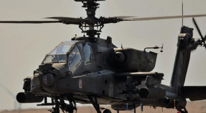 State Department approves sale of 24 Apache helicopters to Qatar for $3B