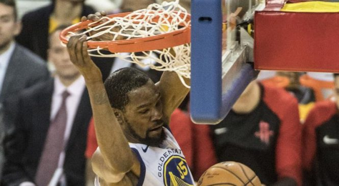 Warriors' Cousins, Durant expected to miss start of NBA Finals