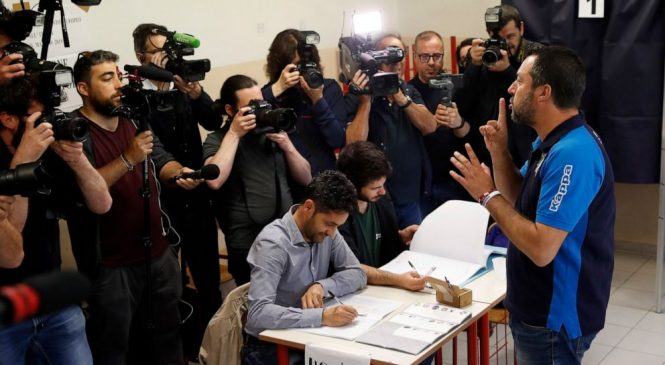 Europe-wide vote fragments center as far right, Greens gain