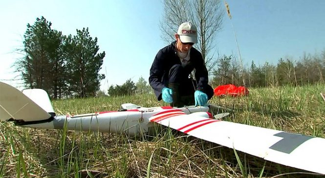 UK drones map Chernobyl's 'Red Forest'
