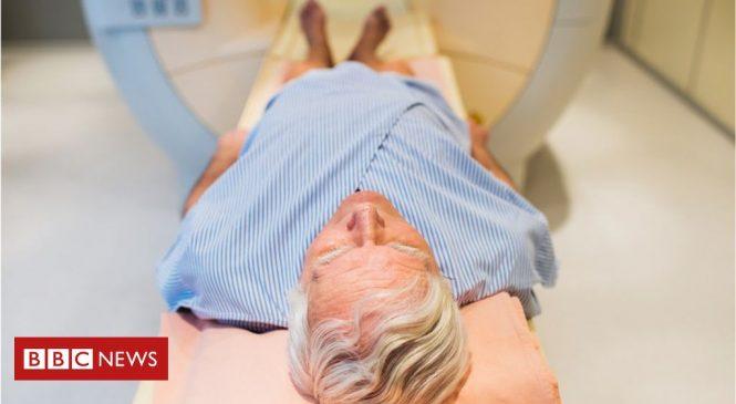 Prostate cancer screening scan hope