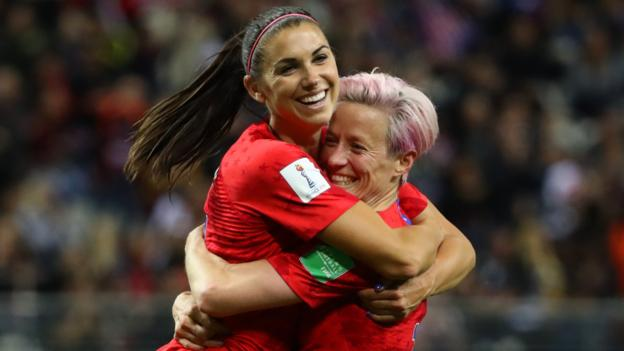 USA 13-0 Thailand: United States claim biggest ever Women's World Cup win