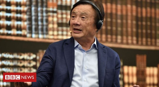 Huawei founder says firm to cut output amid US curbs