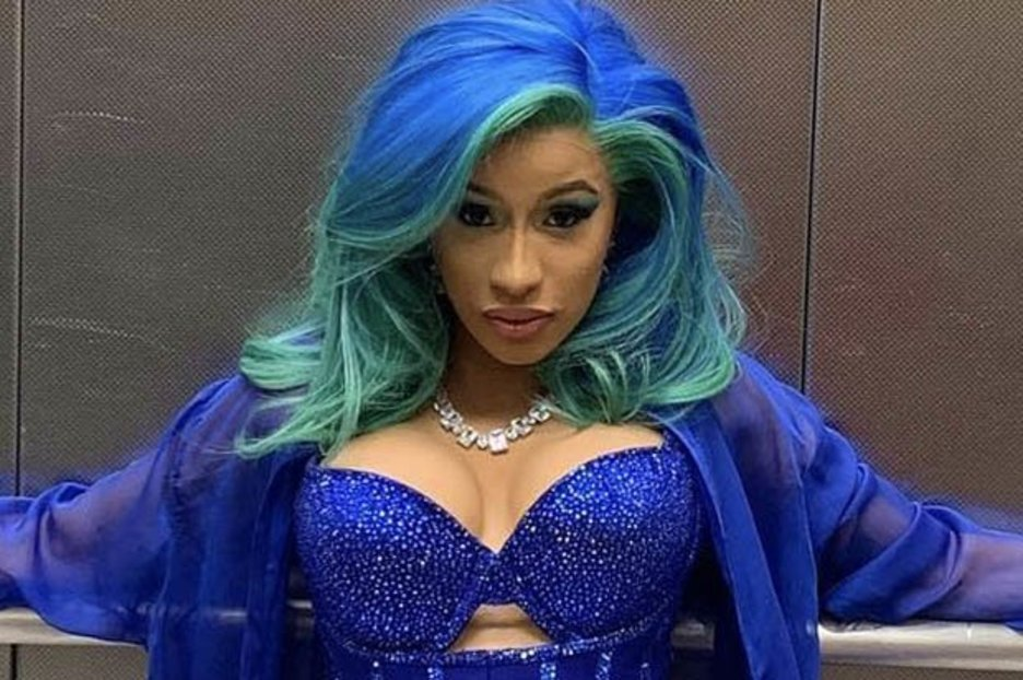 Cardi B strips down 100% naked for new single release