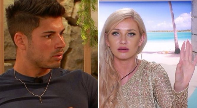 Love Island's Anton reveals secret rift with Amy: 'I would avoid her'
