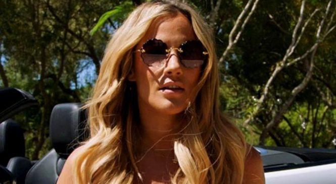Caroline Flack oozes sex goddess in teeniest bikini to grace Love Island villa