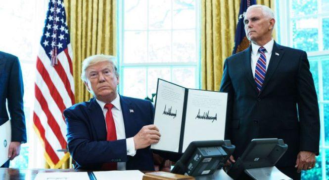 Trump signs off sanctions targeting Iran's supreme leader