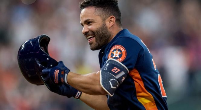 Houston Astros' Jose Altuve to rejoin team in Cincinnati, could play Wednesday