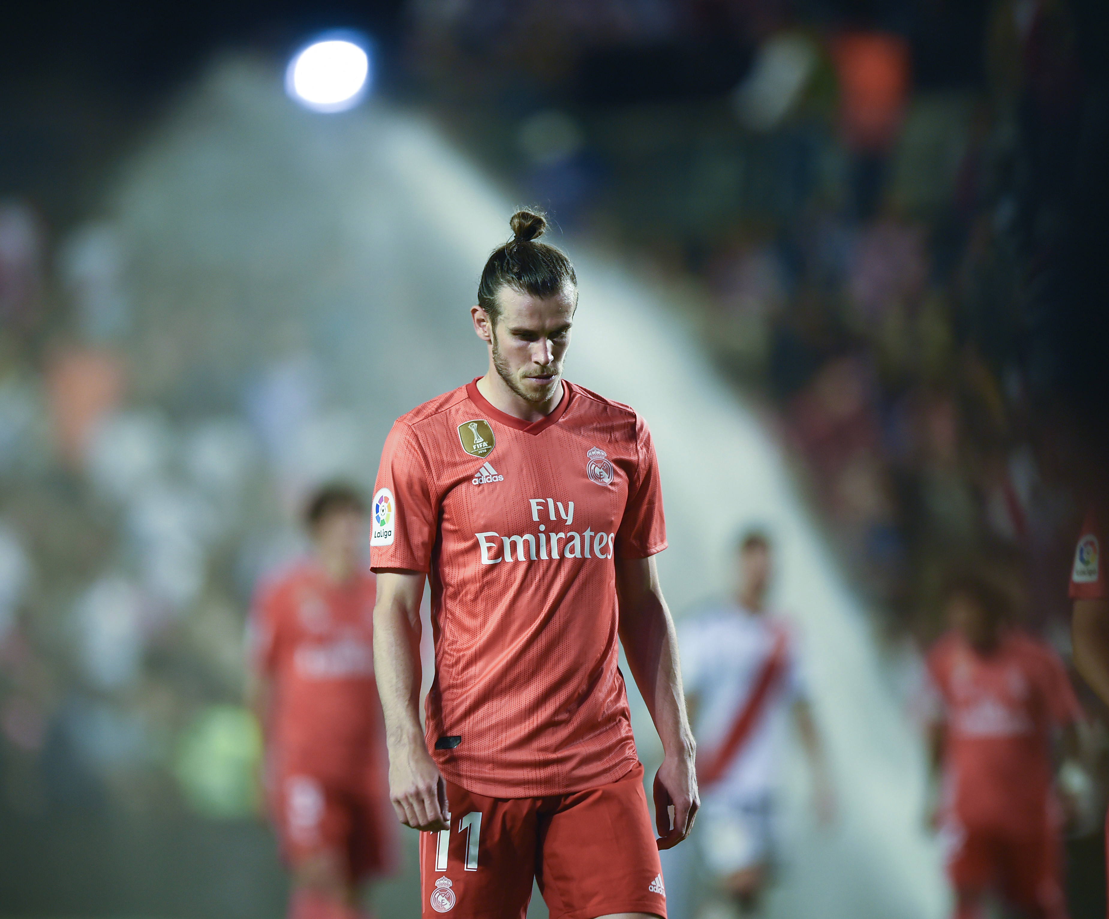 Gareth Bale was dropped from the Real Madrid team towards the end of the season
