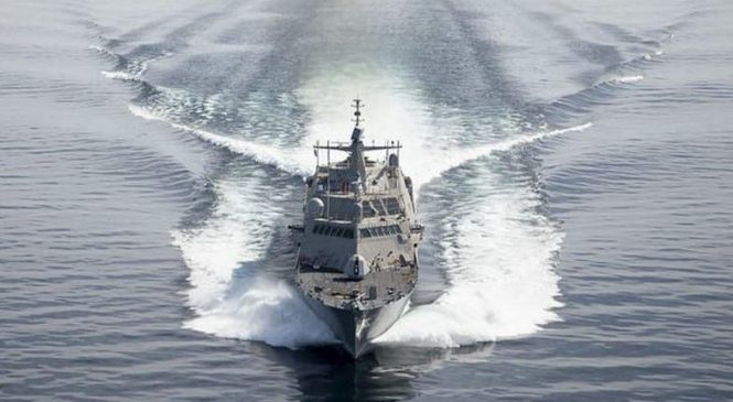 Future littoral combat ship Indianapolis completes acceptance trials