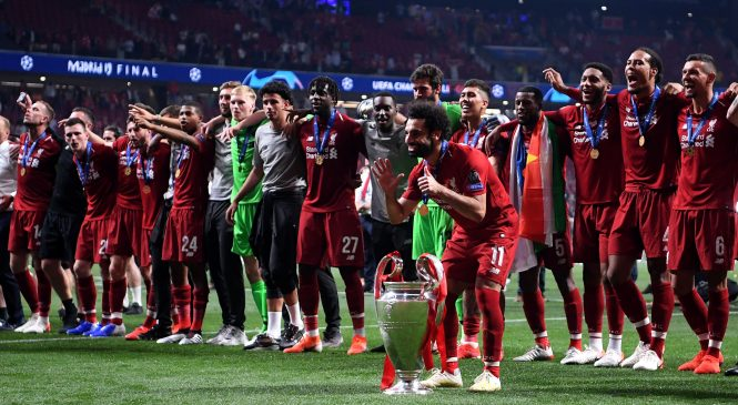 Liverpool now equal with Manchester United as English football's most decorated club after Champions League victory