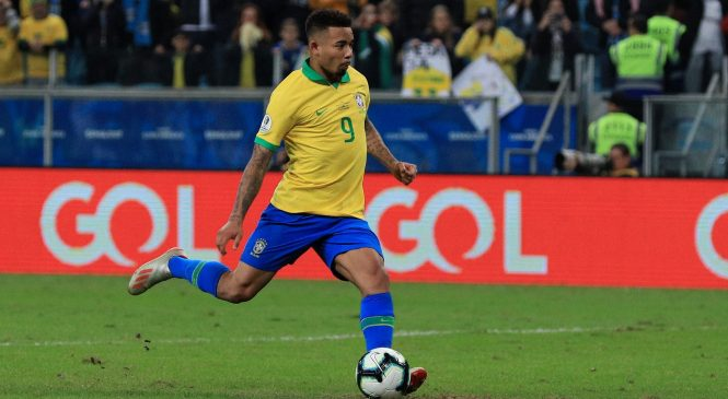 Man City striker Gabriel Jesus saves Roberto Firmino's blushes as Brazil book Copa America semi-final spot