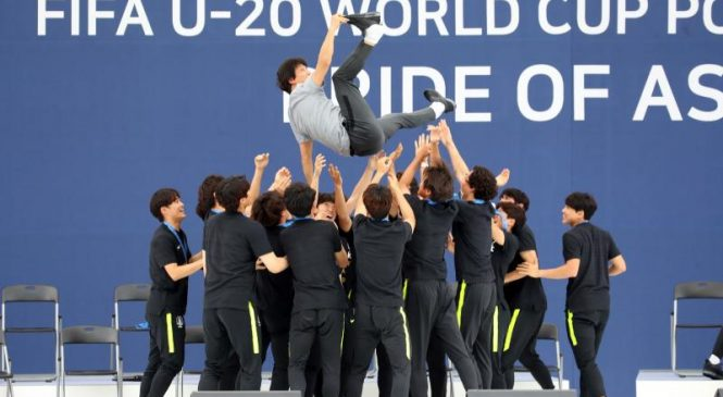 U20 World Cup: Runners-up South Korea feted before fans in Seoul