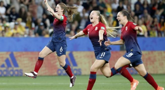 Watch: Germany, Norway advance to Round of 8 in Women's World Cup