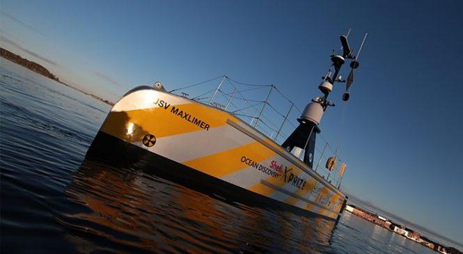 GEBCO-NF Alumni robots win ocean-mapping XPRIZE