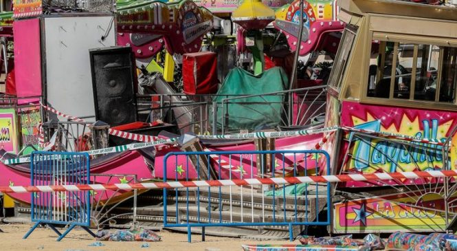 'Major scenes of panic' after fairground ride accident injures 28