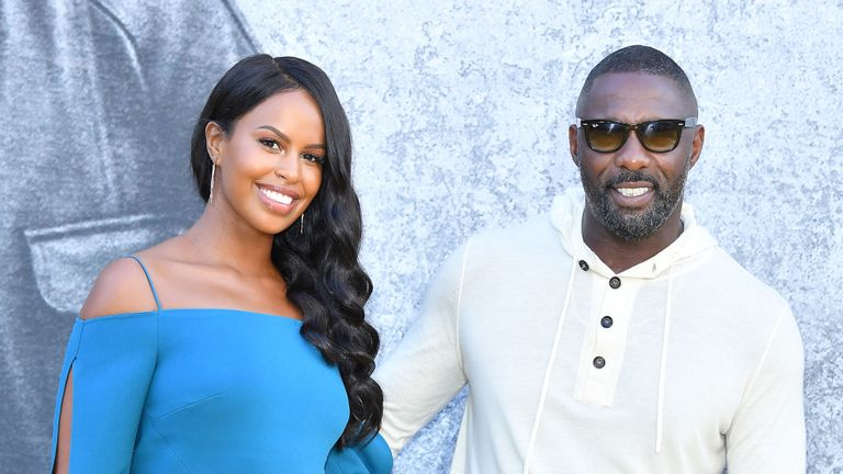 Idris Elba and wife 'first African couple on British Vogue cover'