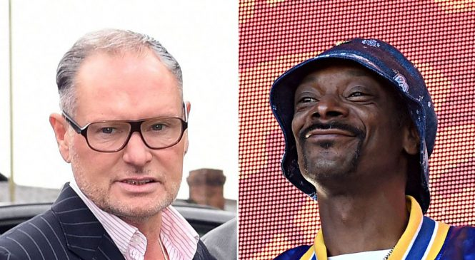 Snoop Dogg shares 'nasty' Gascoigne post to warn of alcohol abuse
