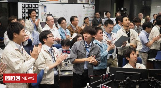 Hayabusa-2: Japanese spacecraft makes final touchdown on asteroid