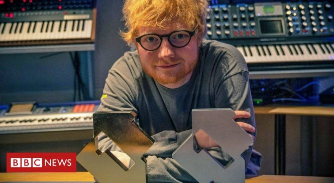 Ed Sheeran goes to numbers one, three and four
