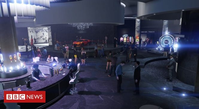 Grand Theft Auto's Diamond Casino lets cash be turned into chips
