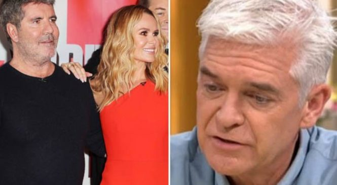 Simon Cowell 'respects' Amanda Holden for speaking out amid Phillip Schofield feud