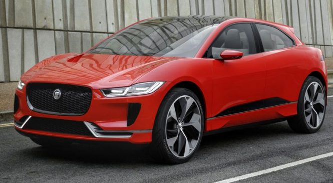 Jaguar Land Rover unveils plans to build electric cars in UK