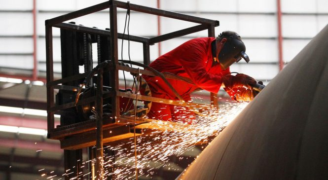 Manufacturing in worst decline for six years as economy fears deepen