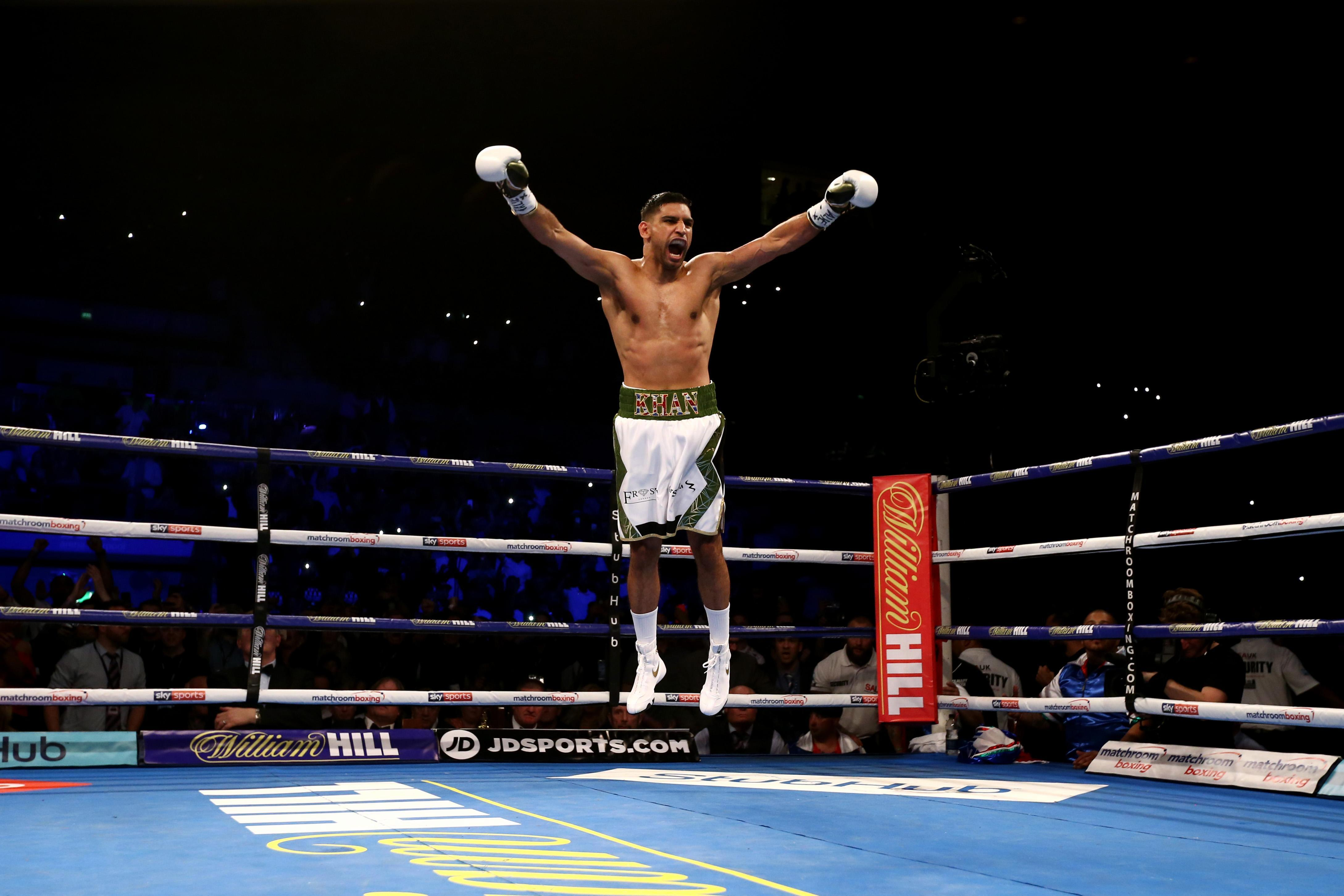The performance echoed Khan's comeback win over Phil Lo Greco last year